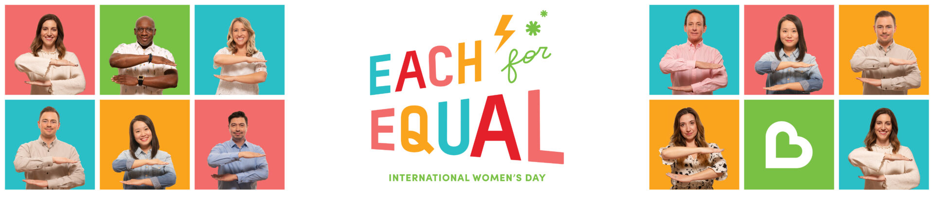 Women run the world (and smart men support them). Creating an #EachForEqual World.