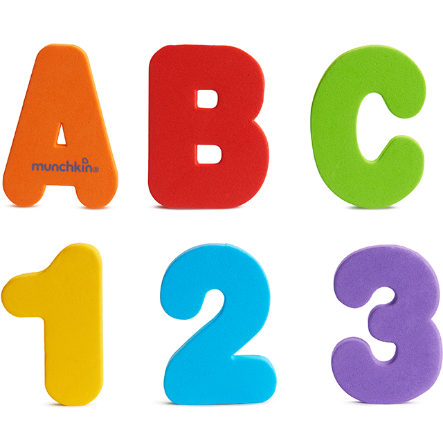 Learn Bath Letters Amp Numbers Primary 36 Count Munchkin Com