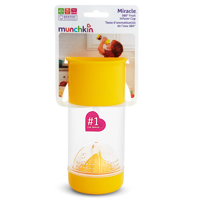 Miracle® 360° Fruit Infuser Cup | Munchkin com