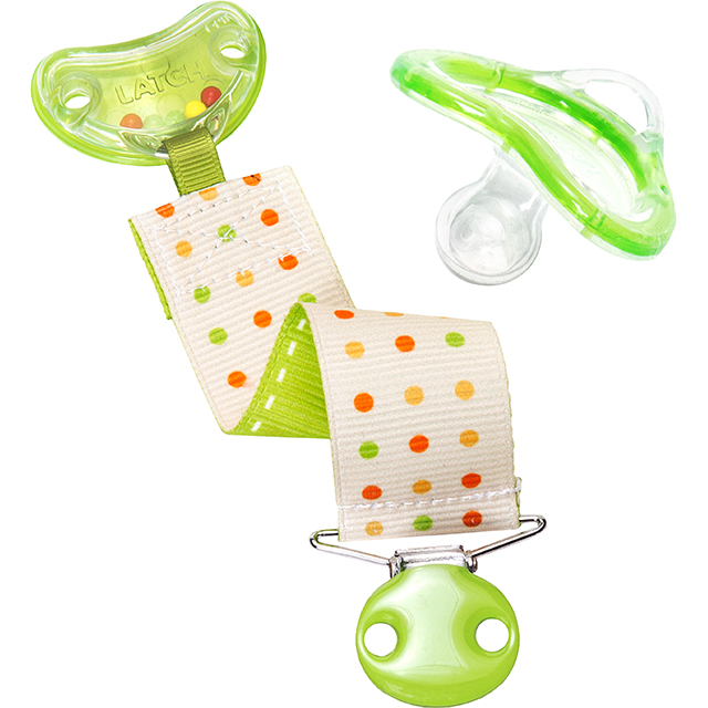 Latch Rattle Pacifier And Clip 6 Mo Munchkin Com