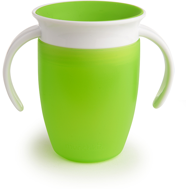 Pics Of Cupping: Miracle 360° Trainer Cup - 7oz (Green/White)