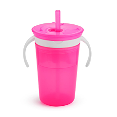 SnackCatch & Sip 2-in-1 Snack Catcher and Spill-Proof Cup