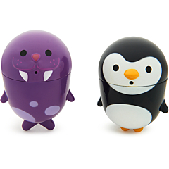 CleanSqueeze Mold-Free Bath Squirts - Penguin & Walrus