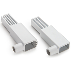 """2.75"""" Safety Gate Extension Adapter Set, White"""