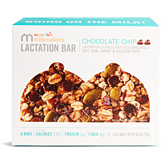Milkmakers Chocolate Chip Lactation Bar - 6 Pack