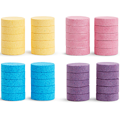 Color Buddies™ Moisturizing Bath Bomb Refills, 40pk