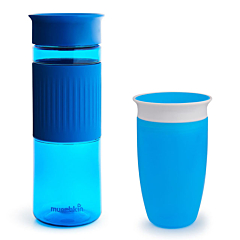 Miracle® 360° Sibling Hydration Cup Set 10oz & 24oz