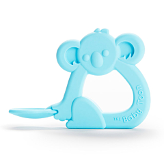 The Baby Toon™ Silicone Teething Spoon, Blue Koala