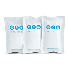 Brica® Clean-to-Go Wipes™ Refill Pack, 3pk