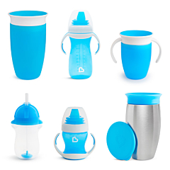 Cups for Every Age & Stage Bundle, Blue