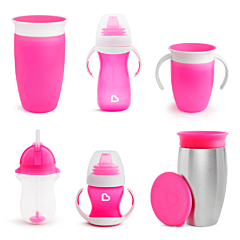 Cups for Every Age & Stage Bundle, Pink