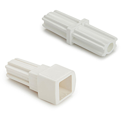 """5.5"""" & 11"""" Safety Gate Extension Adapter Set, White"""
