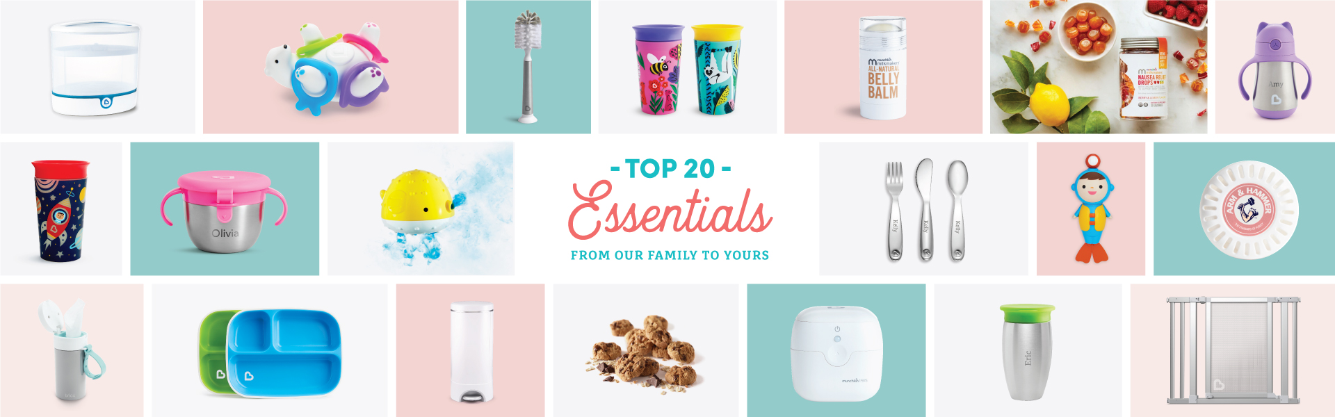 Top 20 Essentials for Toddlers, Babies, & Moms
