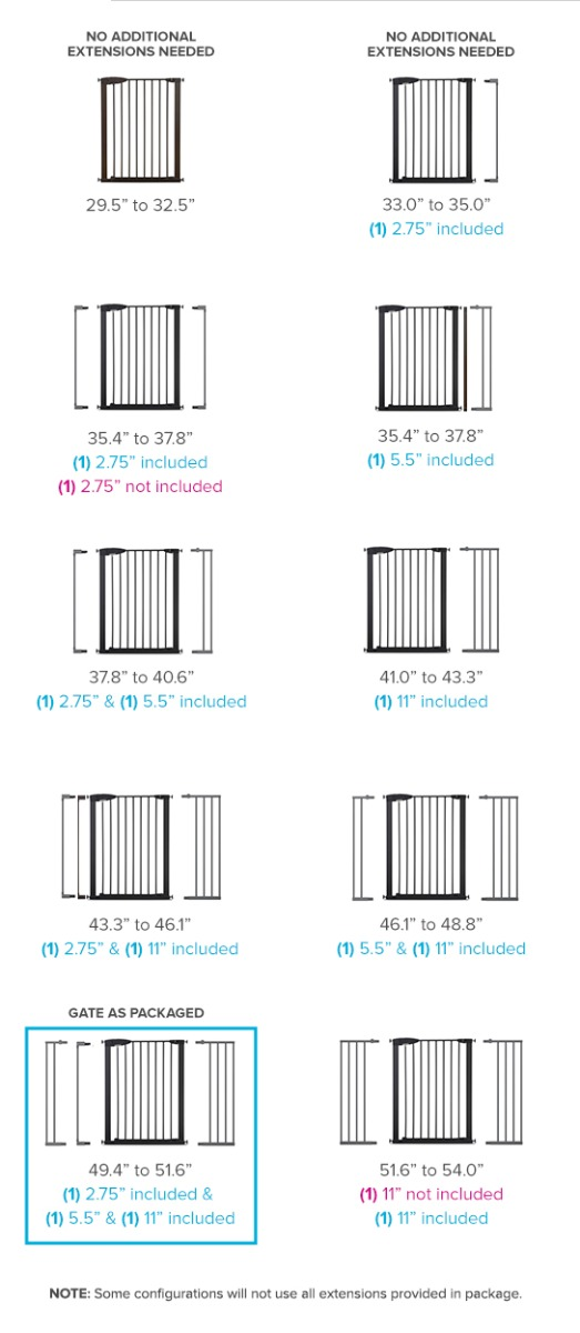 Baby Gate Extensions Safety Gate Extenders Munchkin