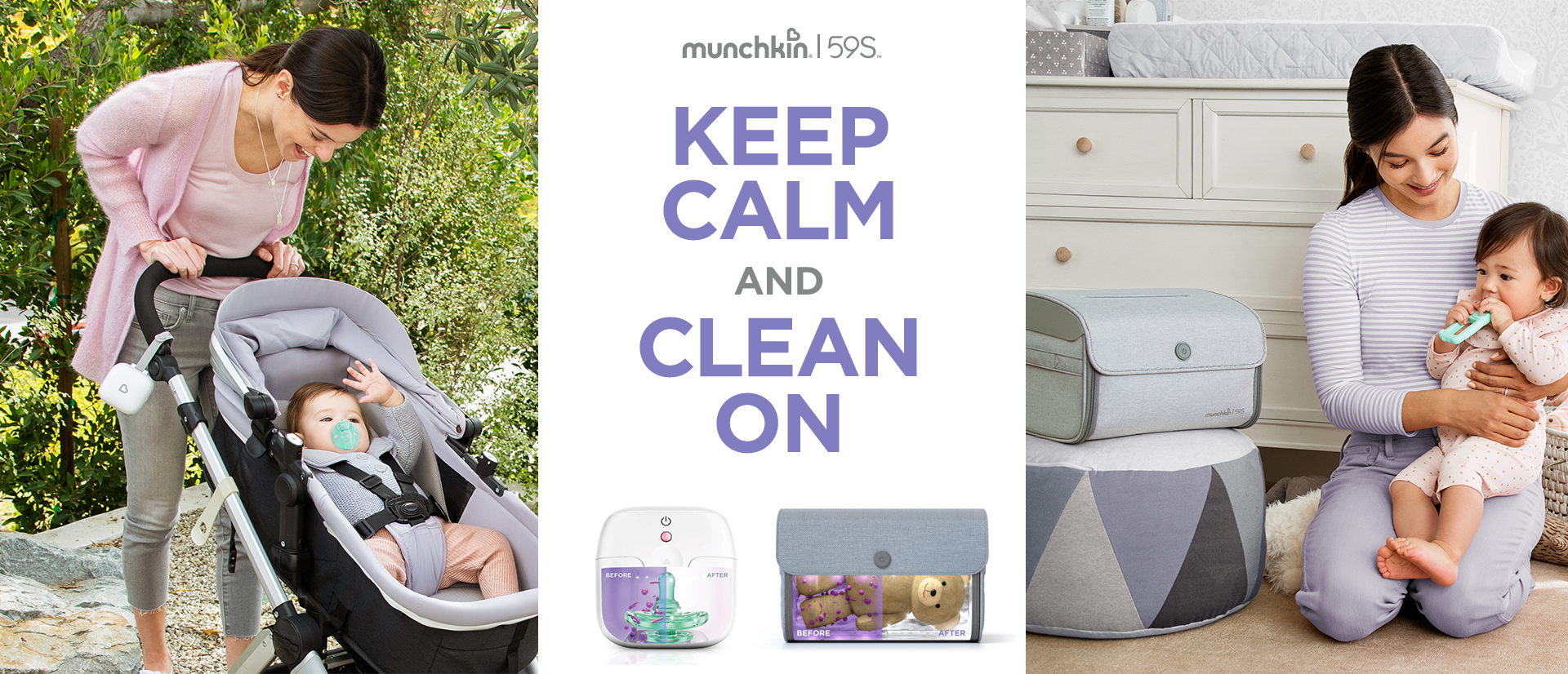 Munchkin 59S   Keep Calm and Clean On