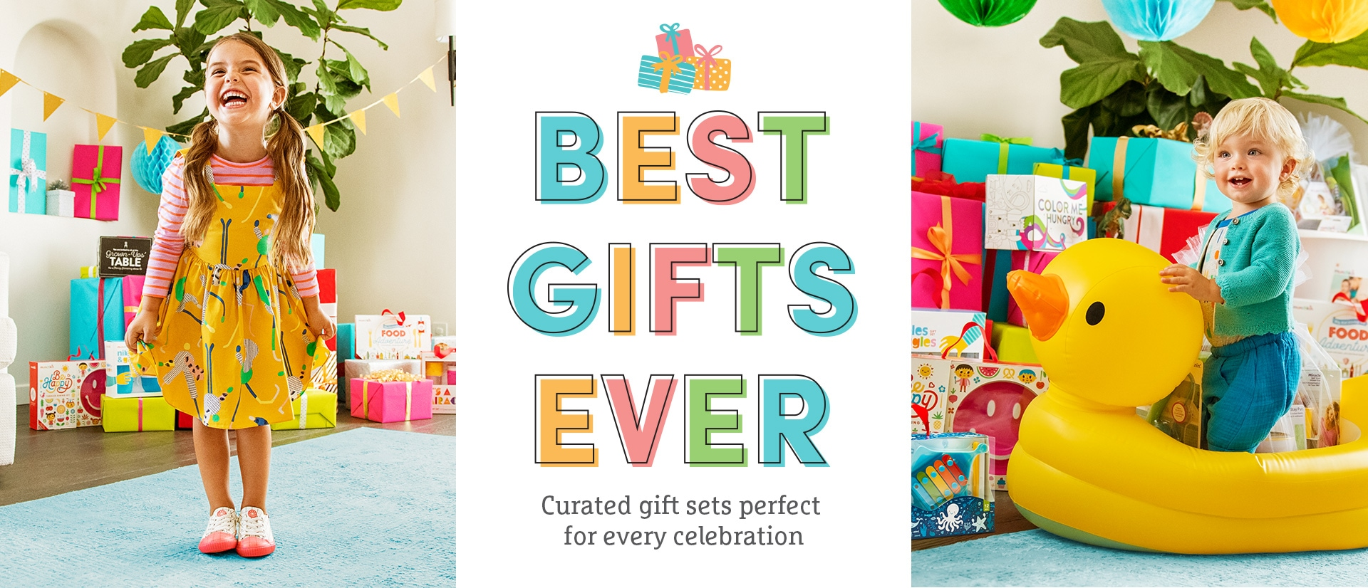 Best gifts ever. Curated gift sets perfect for every celebration