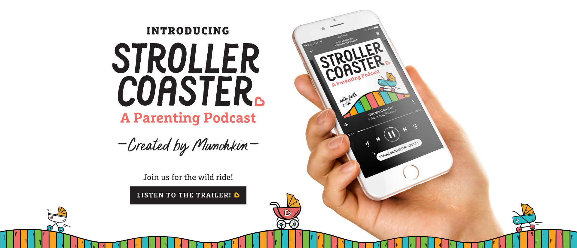 Introducing Stroller Coaster A Parenting Podcast