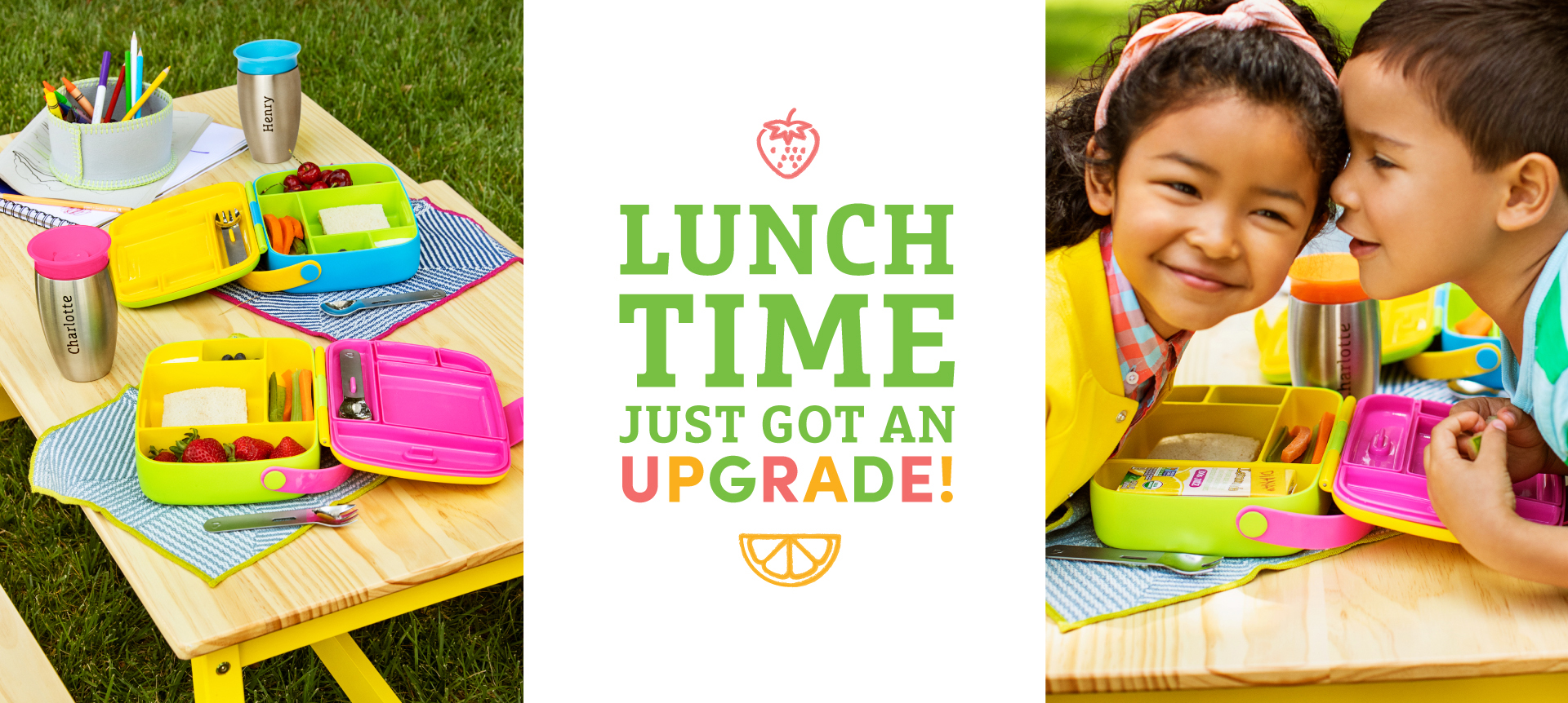 Lunch Time just got an upgrade!